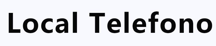 Local Telefono