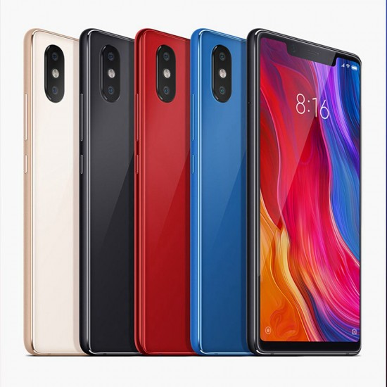 Xiaomi Mi 8 SE 5.88 Inch 4G LTE Smartphone Snapdragon English Version - Gris oscuro