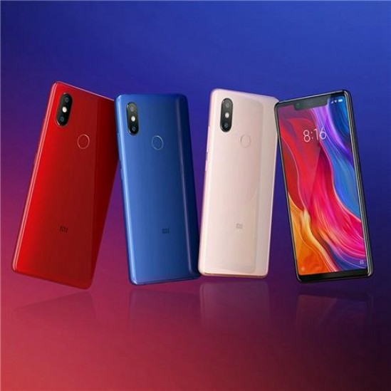 Xiaomi Mi 8 SE 5.88 Inch 4G LTE Smartphone Snapdragon English Version - rojo