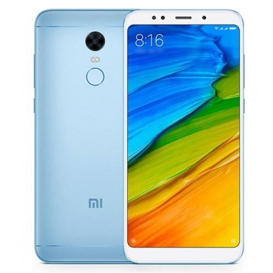 Xiaomi Redmi 5 Plus Smartphone 18:9 Full Screen MIUI 9 64GB Camera Touch ID 4000mAh Battery Global Version - Azul