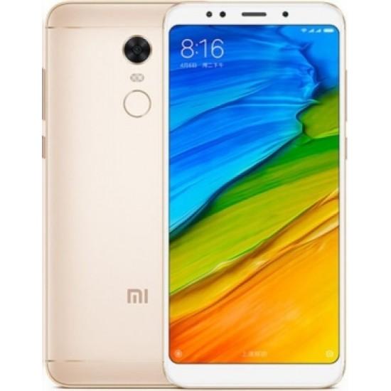 Xiaomi Redmi 5 Plus Smartphone 18:9 Full Screen MIUI 9 64GB Camera Touch ID 4000mAh Battery Global Version - Oro