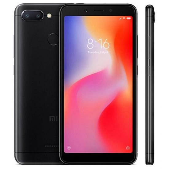 Xiaomi Redmi 6 Smartphone 64GB 18:9 Screen AI Face Unlock Global Version - Negro