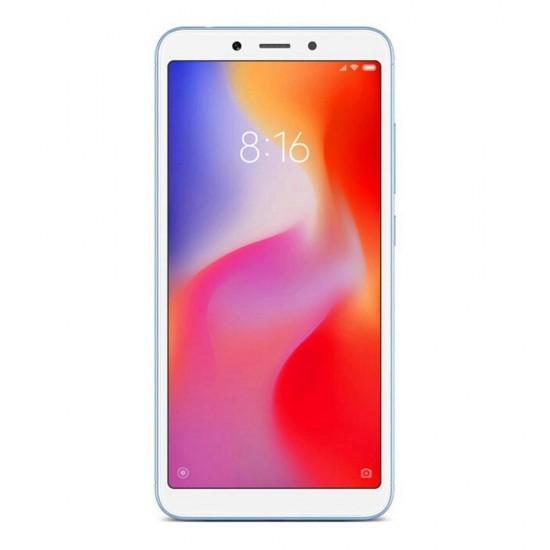 Xiaomi Redmi 6 Smartphone 64GB 18:9 Screen AI Face Unlock Global Version - Azul
