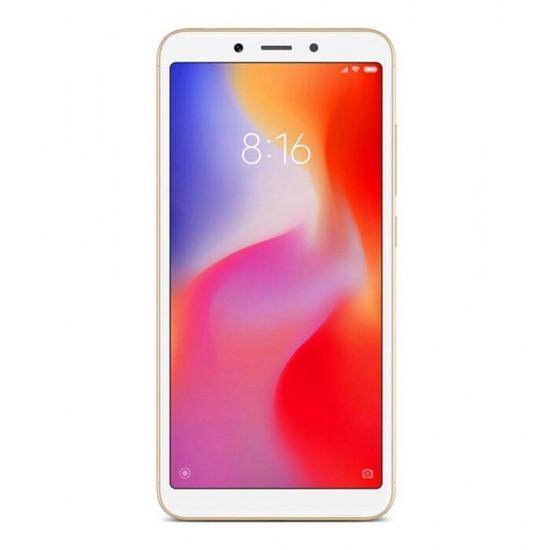 Xiaomi Redmi 6 Smartphone 64GB 18:9 Screen AI Face Unlock Global Version - Oro